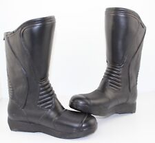 BATA Leather Aquaboot Motorcycle Boot BLACK - UK6/EU39