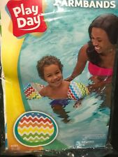 Play Day Armband Water Wings Ages 3-6 New