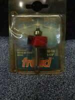 """Freud 32-100 1/2"""" Height Rabbeting Router Bit with 1/4"""" Shank"""