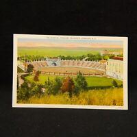 POSTCARD THE STADIUM SYRACUSE UNIVERSITY, SYRACUSE, NEW YORK