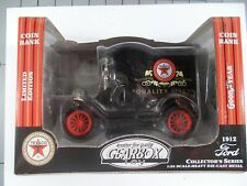 Gearbox 1/24 1912 Ford Delivery Car Texaco Bank