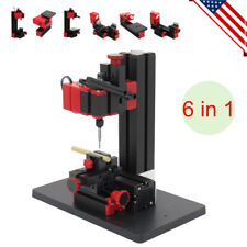 Craft Wood Hobby CNC Lathe Motorized Jig-saw Grinder Driller Milling Machine USA