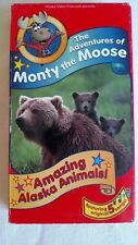 VHS Adventure of Monty the Moose Amazing Alaska Animals