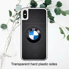 Logotipo de coche deportivo BMW símbolo Ventilador Negro funda iPhone Samsung Huawei Google