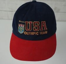Vintage USA Olympic Team Champion Snapback Cap Hat Olympics