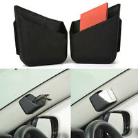 2pcs Universal Car Accessories Phone Pen Organizer Storage Bag Box Holder HOt