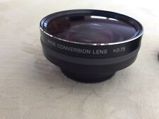 Sony VCL-HG07B Full Range High-Grade Wide Conversion Lens excellent