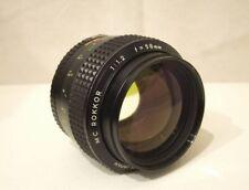 MINOLTA MC ROKKOR 58mm f 1.2 Camera Lens USED
