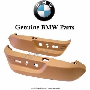 NEW For BMW E39 525i 528i Seat Switch Cover Set Sandbiege 52 10 7 058 011