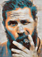 TOM HARDY ART PRINT POSTER OIL PAINTING LFF0203