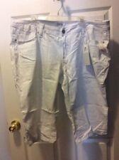 Stretch Plus Capris, Cropped 22W Pants for Women