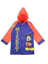 Little Boys Disney Mickey Mouse Rain Coat Jacket Slicker Size Large 6/7