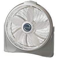 Lasko Cyclone 20'' Quiet Cooling Floor Fan Portable Room Air Circulator 3 Speed