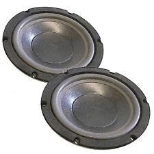 "Pair 8"" Dvc Dual 8 Ohm Subwoofer S Vw882x Great Ported .75ft 4 Diy Home Theater"