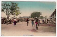 cartolina postcard - SINGAPORE NATIVE COOLY