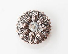 """1.5"""" Center Jeweled Floral Concho   1 piece/ package  $4.00"""