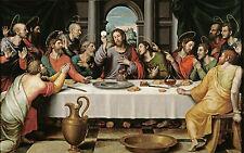 The Last Supper  by Juan de Juanes  Giclee Canvas Print Repro
