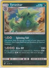 Pokemon TCG SM Team Up 85/181 Tyranitar Holographic Rare Card