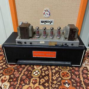 Vintage 1960s 1970s Simms Watts AP 100 AP100 100w Guitar Valve Amplifier Head