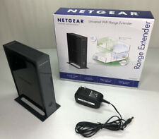 Netgear Universal Wifi Range Extender 4-Port Adapter, Model WN2000RPT