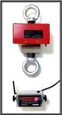 WIRELESS DIGITAL CRANE SCALE - INDUSTRIAL CRANE SCALE - 5,000 X 0.5 LBS