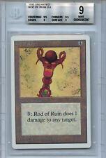 MTG Unlimited Rod of Ruin Magic The Gathering WOTC BGS 9.0 (9) Mint 6387