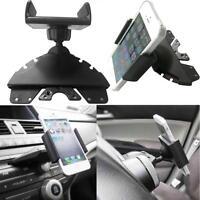 Universal 360° Car CD Slot Holder Mobile Phone GPS Sat Nav Stand Cradle Mount