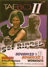 TaeBo II - Get Ripped - Advanced 1 & 2 Workouts (DVD, 2000)