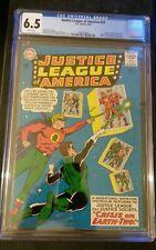 JUSTICE LEAGUE OF AMERICA #22 CGC 6.5 -CRISIS ON 2 EARTHS KEY DC COMIC-LIKE CBCS
