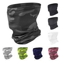 Ice Silk Sunscreen Balaclava Bandana Half Face Cover Scarf Scarves Headwear Hat