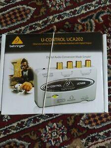Behringer U-Control UCA202 2 Input/Output USB Audio Interface