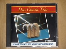 Philips démonstration Disc le Classic Trio-la nouvelle dimension sonore