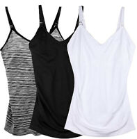 3 Pack Nursing Cami Breastfeeding Tank Top, Maternity Breast Feeding Camisole