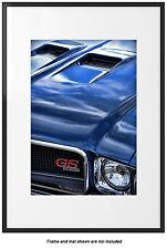 1970 Buick GS Gran Sport 455 Photo Art Poster Print 13x19 Garage '70 GSX Blue