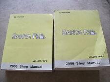 2006 Hyundai Santa Fe Service Repair Manuals Volume 1 and 2