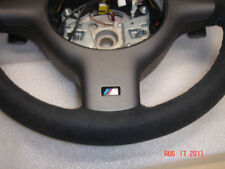 BMW E46 M3 SMG LEATHER,SUEDE M SPORT STEERING WHEEL