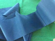 BEAUTIFUL MATTE FINISH NAVY BLUE  4   INCH BLANKET QUILT BINDING TRIM