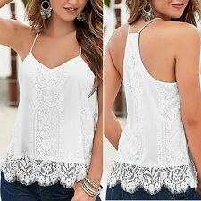 Fashion Women Sleeveless Vest Shirt Tank Tops Blouse Casual Summer Loose T-shirt