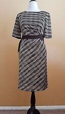 Ladies brown dress size 14 by Connected Apparel