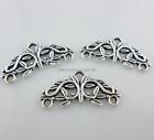 39pc Tibetan Silver Earring Connectors Charms Pendants Jewelry Making 14x29mm