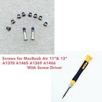 "Apple Macbook Air 13"" 11"" Bottom Cover Screws & Screwdriver A1465 1466 1369 1370"