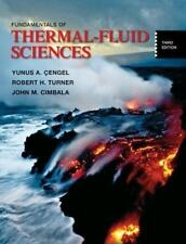 Fundamentals of Thermal-Fluid Sciences with Student Resource CD, Turner, Robert,