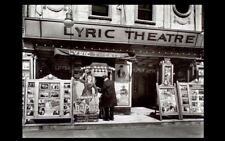 1935 Historic Lyric Theater PHOTO Manhattan New York Broadway, Movie Theater