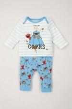 Sesame Street Cookie Monster Baby Boys Pyjamas. Age 9-12m. BNWT