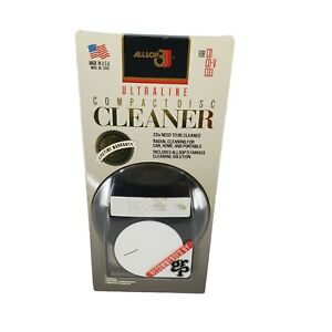 Vintage Allsop Ultraline Compact Disc Cleaner New Old Stock In Original Box