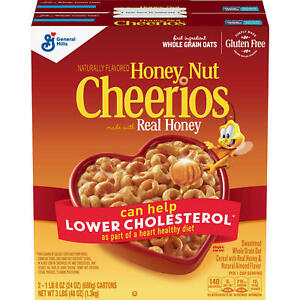 Honey Nut Cheerios Gluten Free Cereal (24 oz, 2 Pack) GREAT DEAL & SERVICE!!