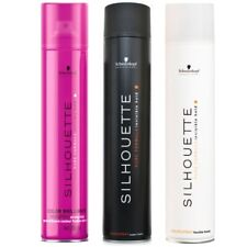 Schwarzkopf Silhouette Hairspray - BLACK, WHITE and PINK - 750ml/ 500ml/ 300ml