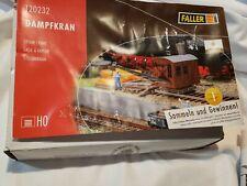 Faller 120232 - 1/87/H0 Steam Crane - New WORN BOX -FREE SHIPPING