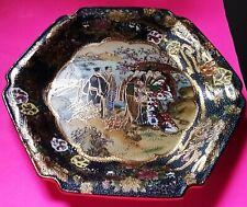"Vintage Royal Satsuma Handpainted 12'1/4 X 11"" Plate-Japan"