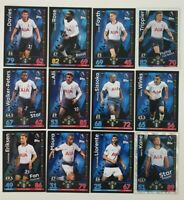 2018/19 Match Attax EPL Soccer Cards - Tottenham Team Set inc shiny Spurs
